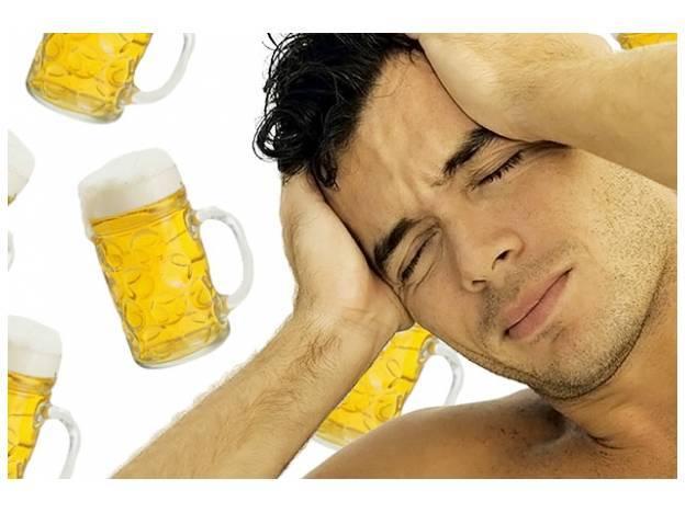 Почему многие пьют именно пиво с похмелья?