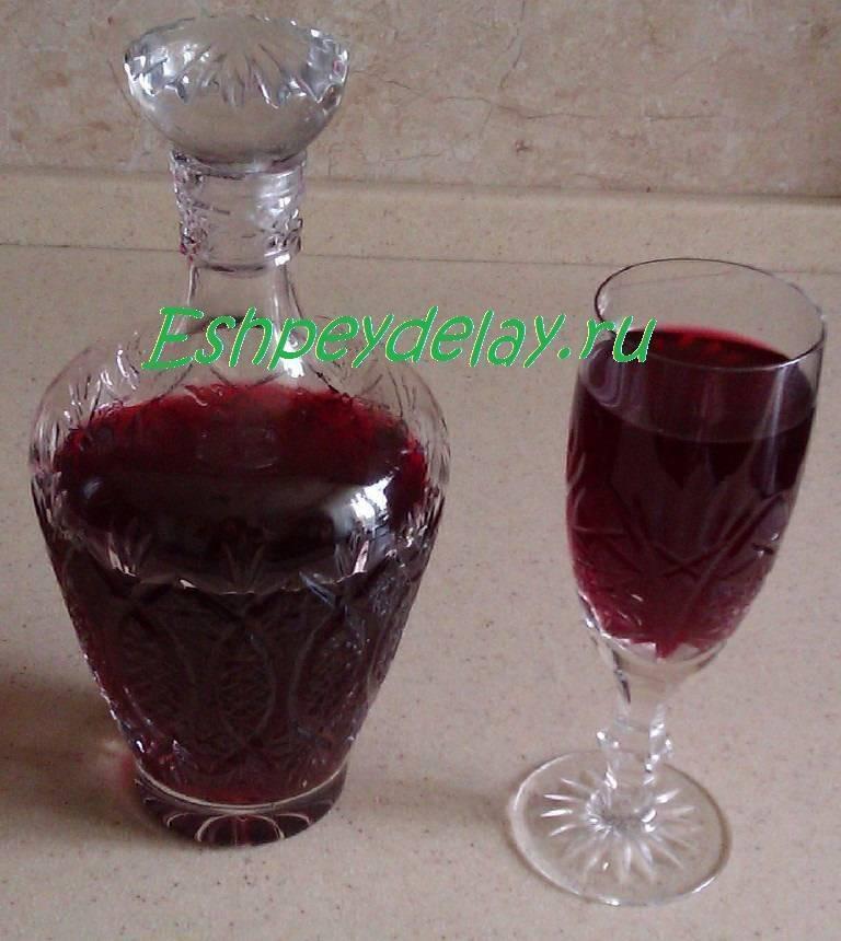 Как сделать малиновую закваску для вина