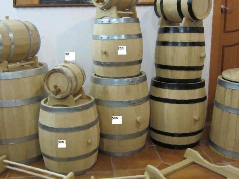 Подготовка дубовой бочки для самогона, виски, коньяка, бурбона