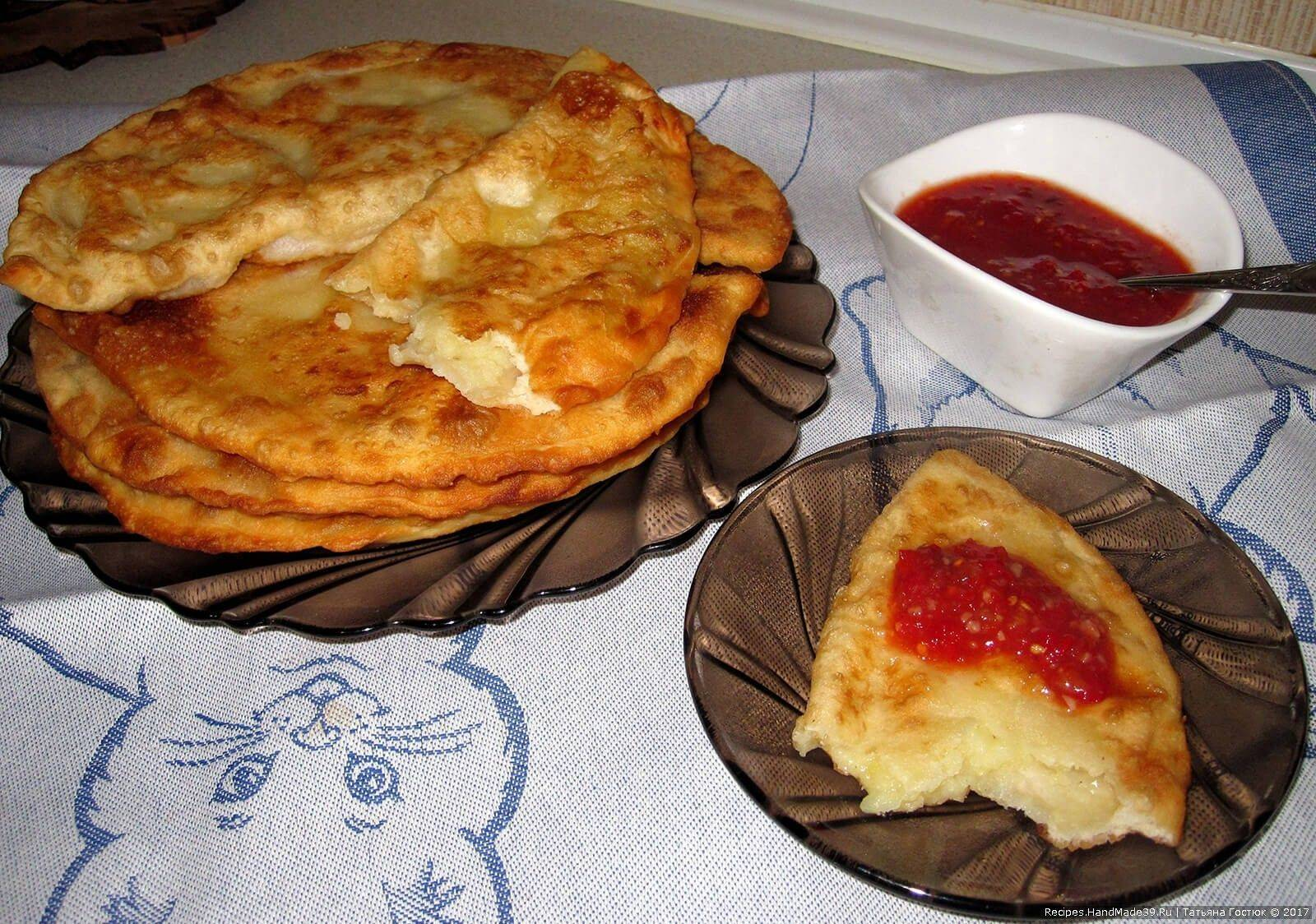 Чебуреки на заварном тесте – кулинарный рецепт
