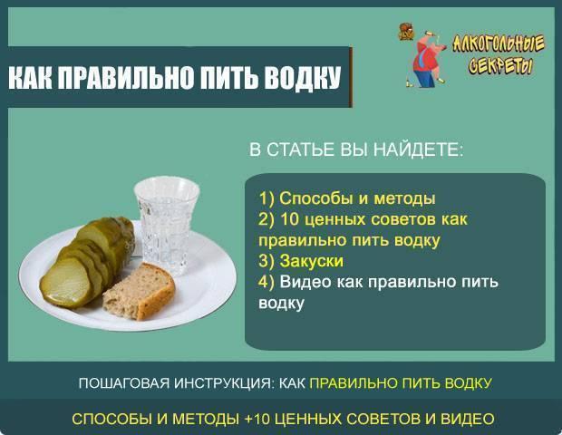 Как правильно закусывать. чем правильно закусывать
