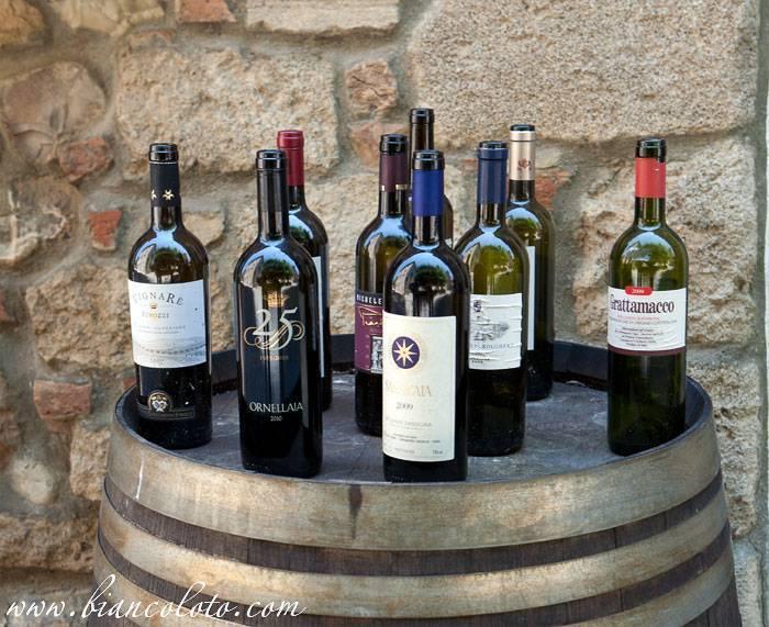 Супер-тосканские вина: тоскана и ее благородные прародители вин