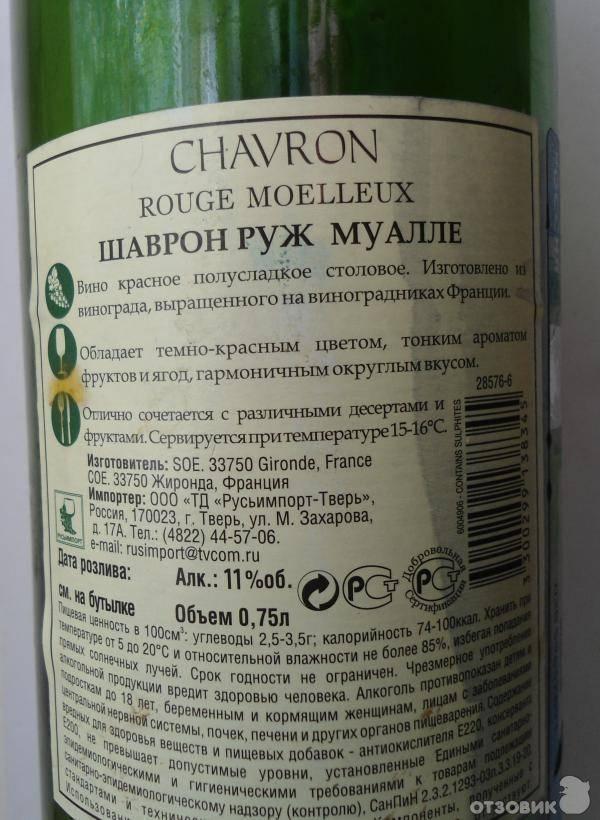Разновидности вина шаврон и его история