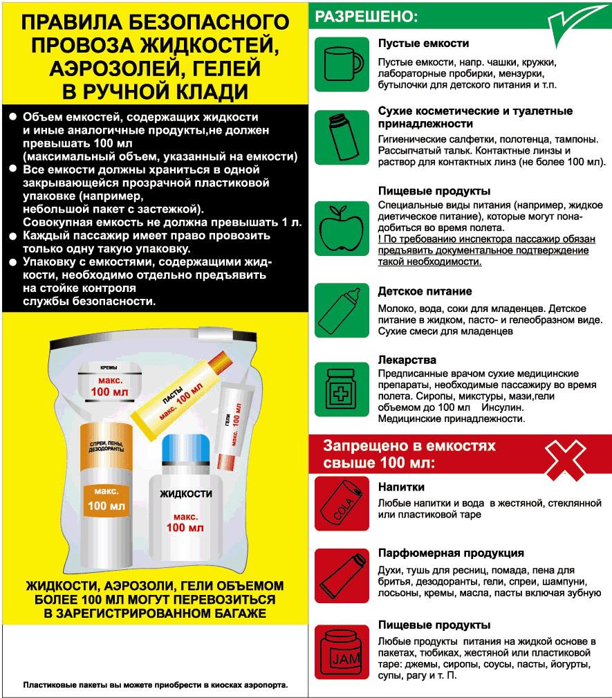 Продукты в самолете: какую еду можно брать в ручную кладь и багаж. инструкция на туристер.ру