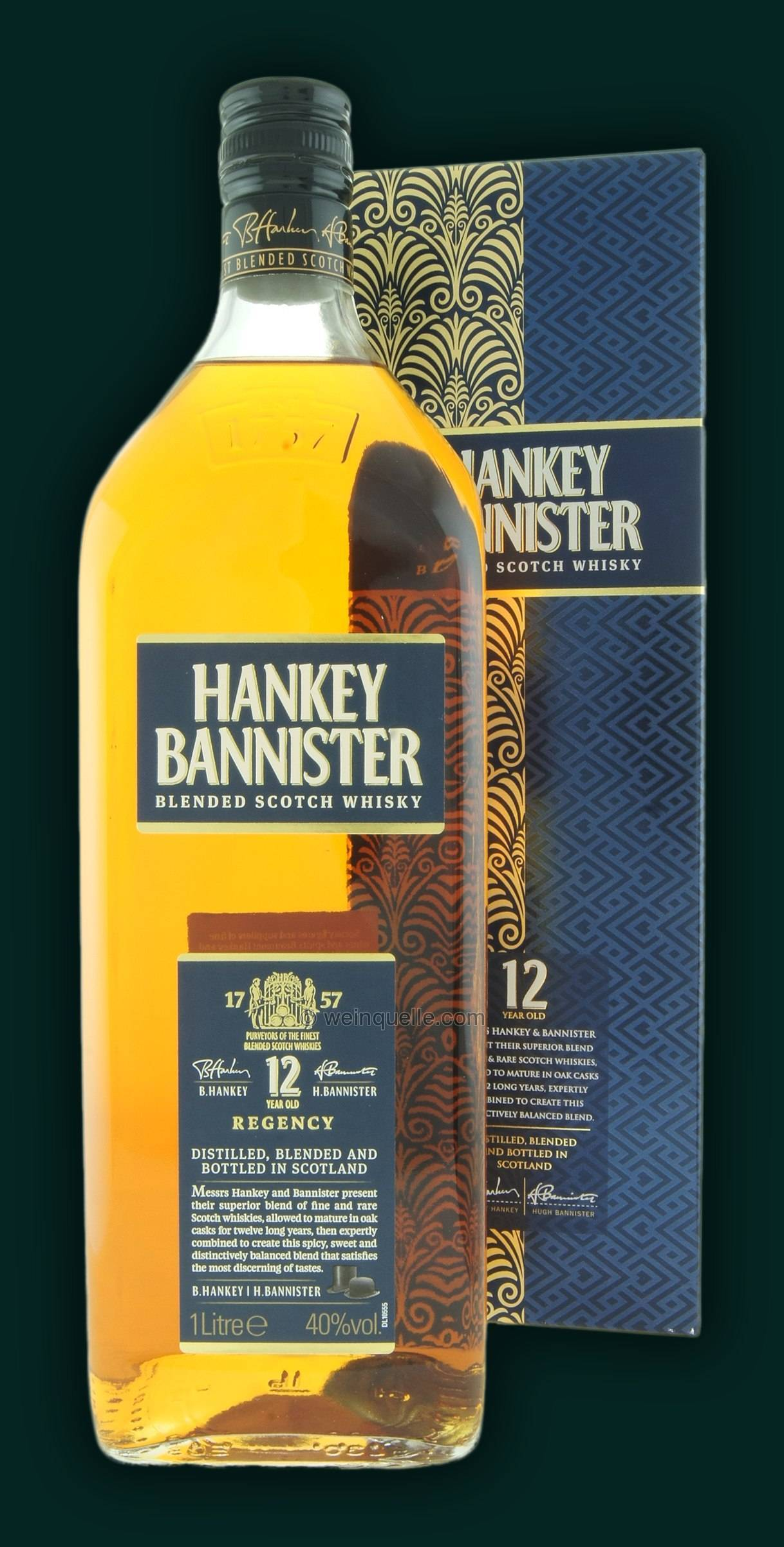 История появления и разновидности виски hankey bannister. сколько стоит и где можно купить?