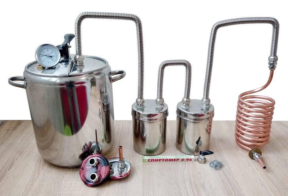 Особенности и правила выбора самогонного аппарата без проточной воды