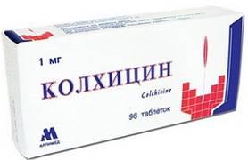 Медикаментозные препараты для лечения подагры: список лекарств, их свойства и эффективность