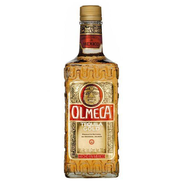 Золотая текила ольмека имеет мексиканское происхождение