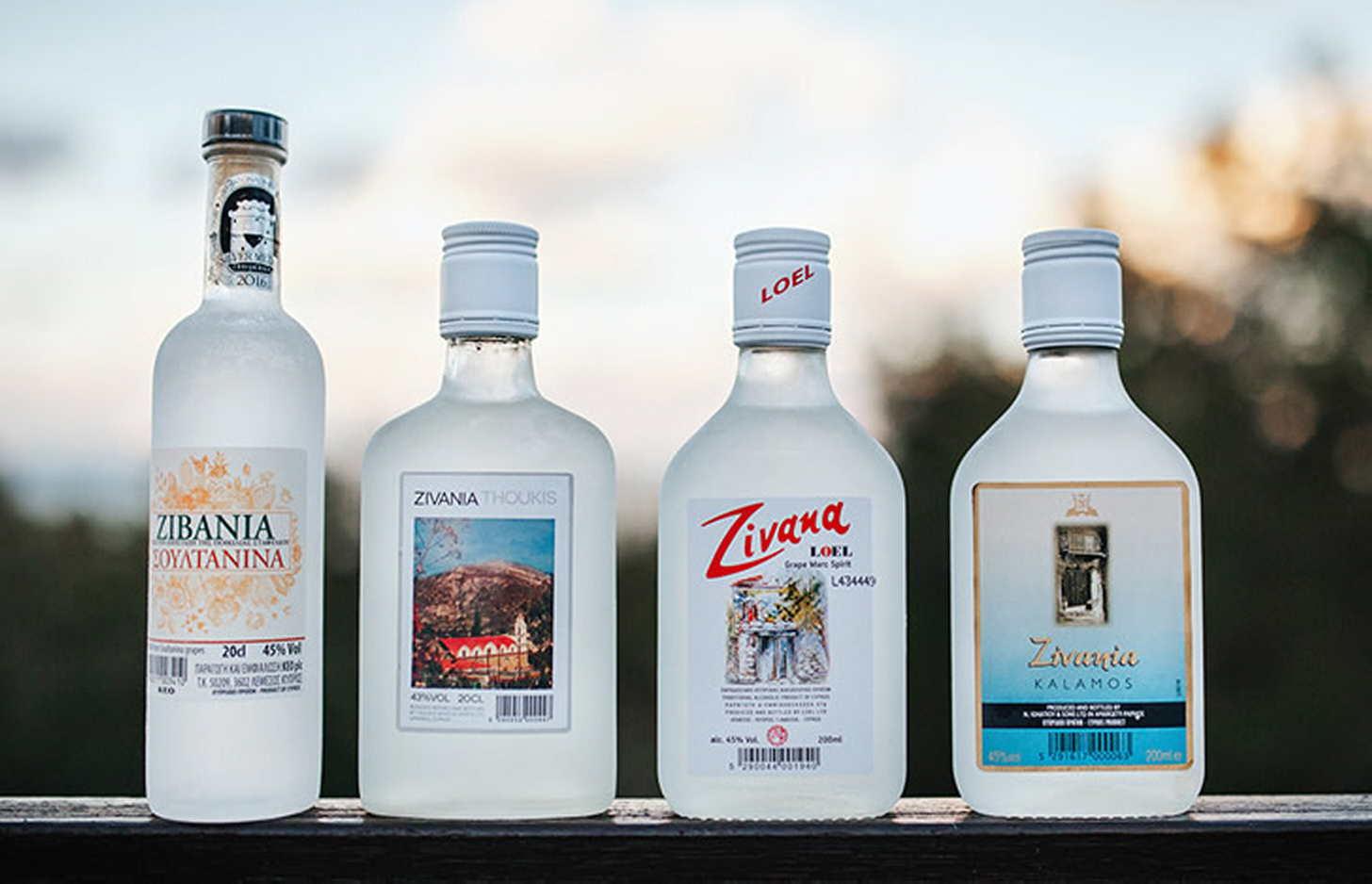 Обзор алкоголя на Кипре
