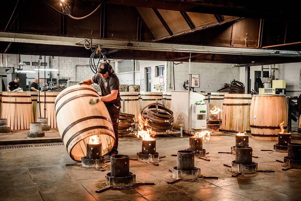 Технология промышленного производства настоящего коньяка