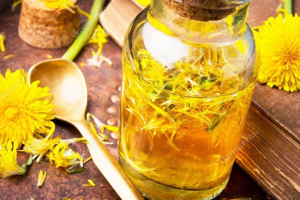 Настойка из цветов одуванчиков: домашние рецепты на водке и спирту