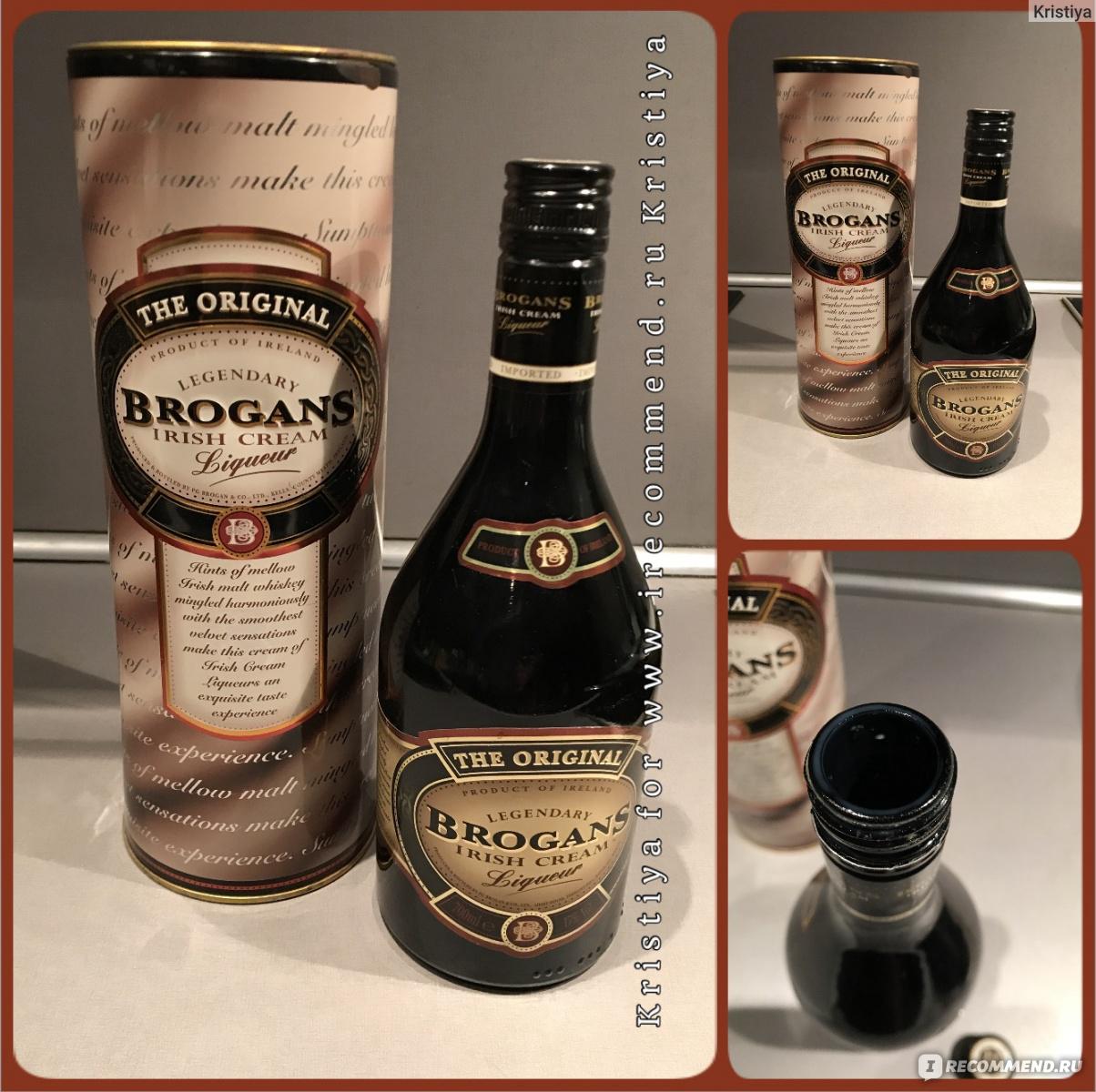Спиртные напитки. ликер brogans (броганс) - наш дом