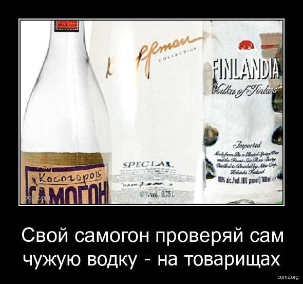Водка или самогон? издвух зол выбираем меньшее: что лучше пить – ? женские секреты