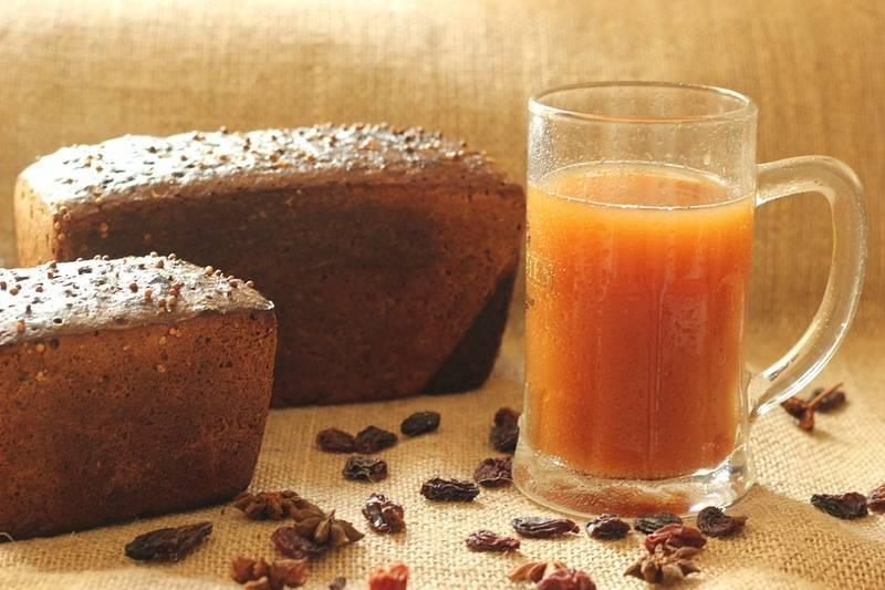 Традиционный солодовый квас – кулинарный рецепт
