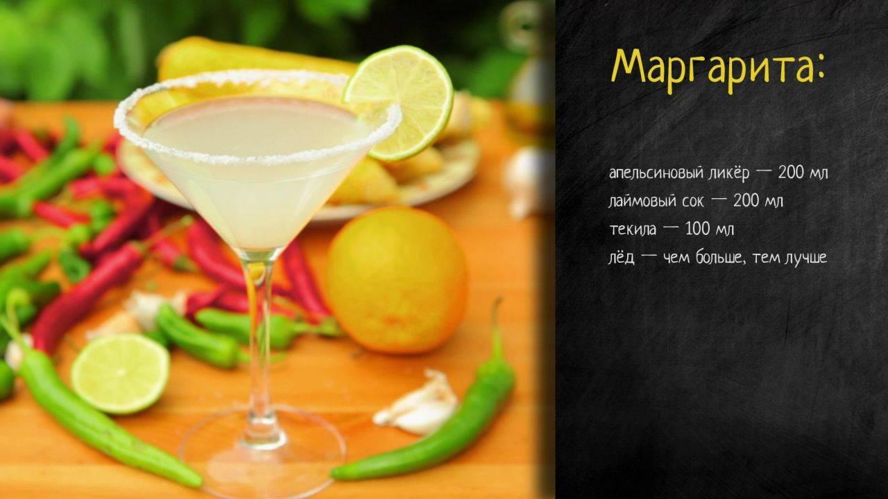 Коктейль «маргарита» - состав, рецептура и способ приготовления. из чего состоит данный коктейль?