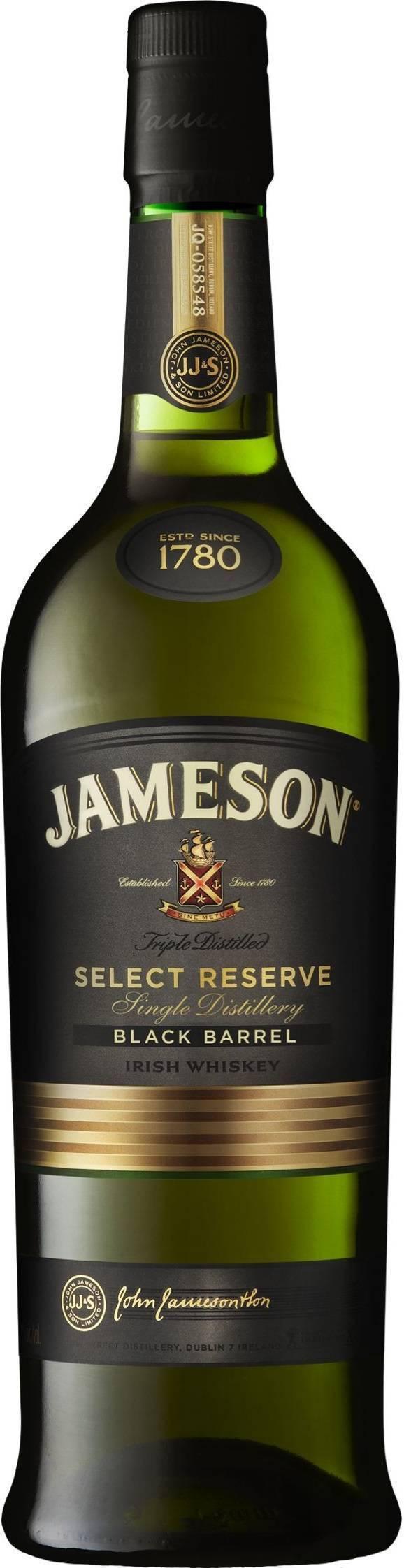 Jameson black barrel select reserve (1l) günstig kaufen