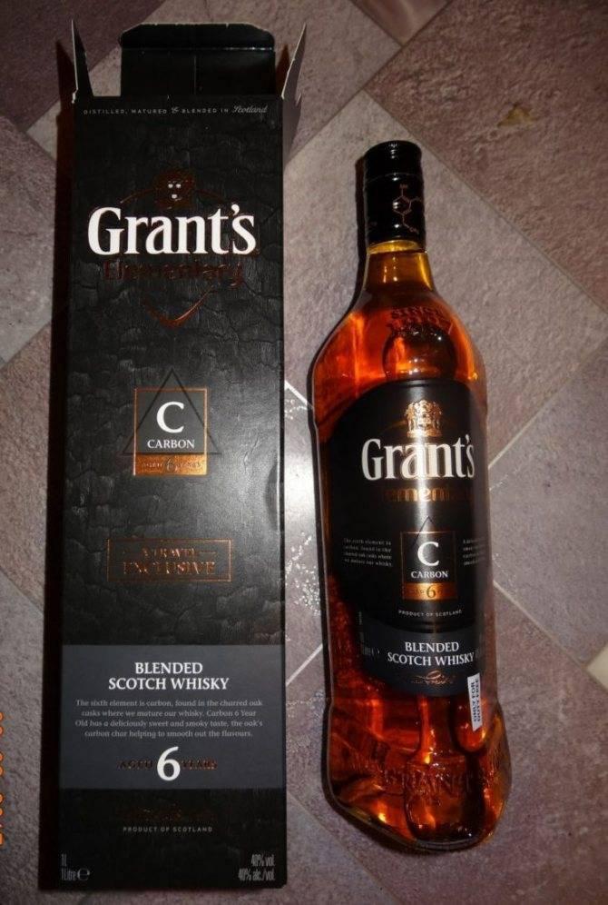 Виски grants: описание и виды