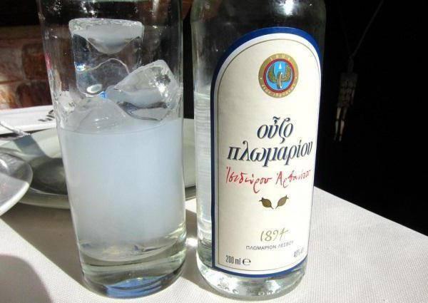 Что такое греческая водка как правильно пить напиток узо?