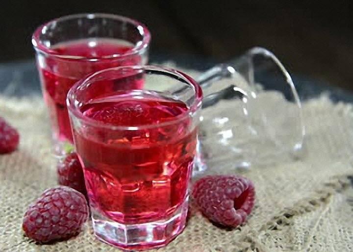 Домашнее сухое вино из малины без сахара
