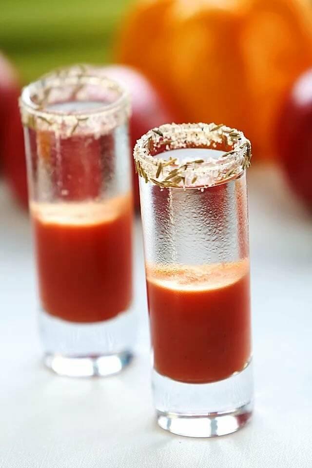Коктейль кровавая мэри – непревзойденное сочетание простых ингредиентов