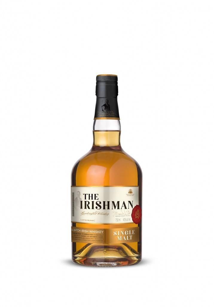 "Виски виски ""the irishman"" cask strength, gift box, 0.7 л - ""айришмен"" каск стренг, в подарочной коробке, 700 мл"