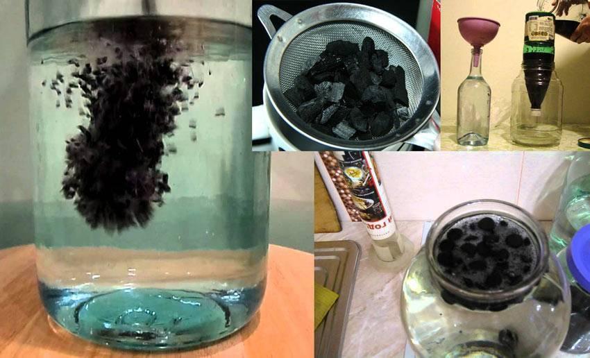Как очистить самогон от сивушных масел и запаха в домашних условиях