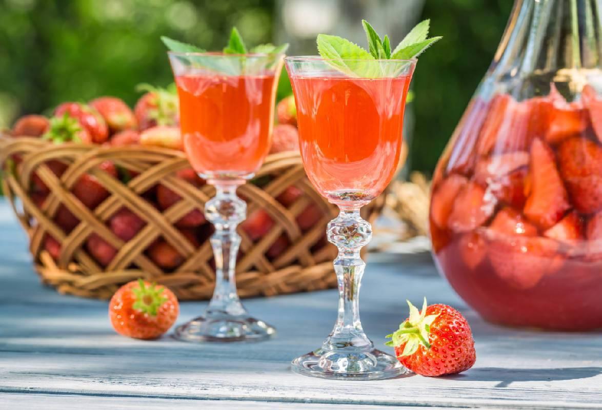 Наливка 4 стакана ягод – все по 4, рецепты настоек, ягодного вина