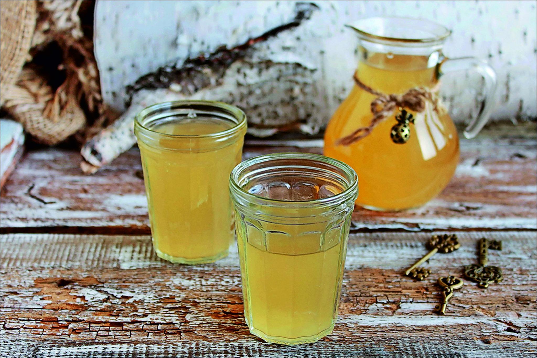 Рецепты браги из сока березы, приготовление самогона из березового кваса