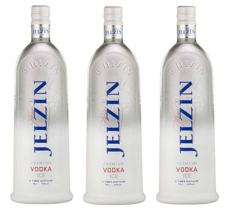 Водка jelzin (ельцин)