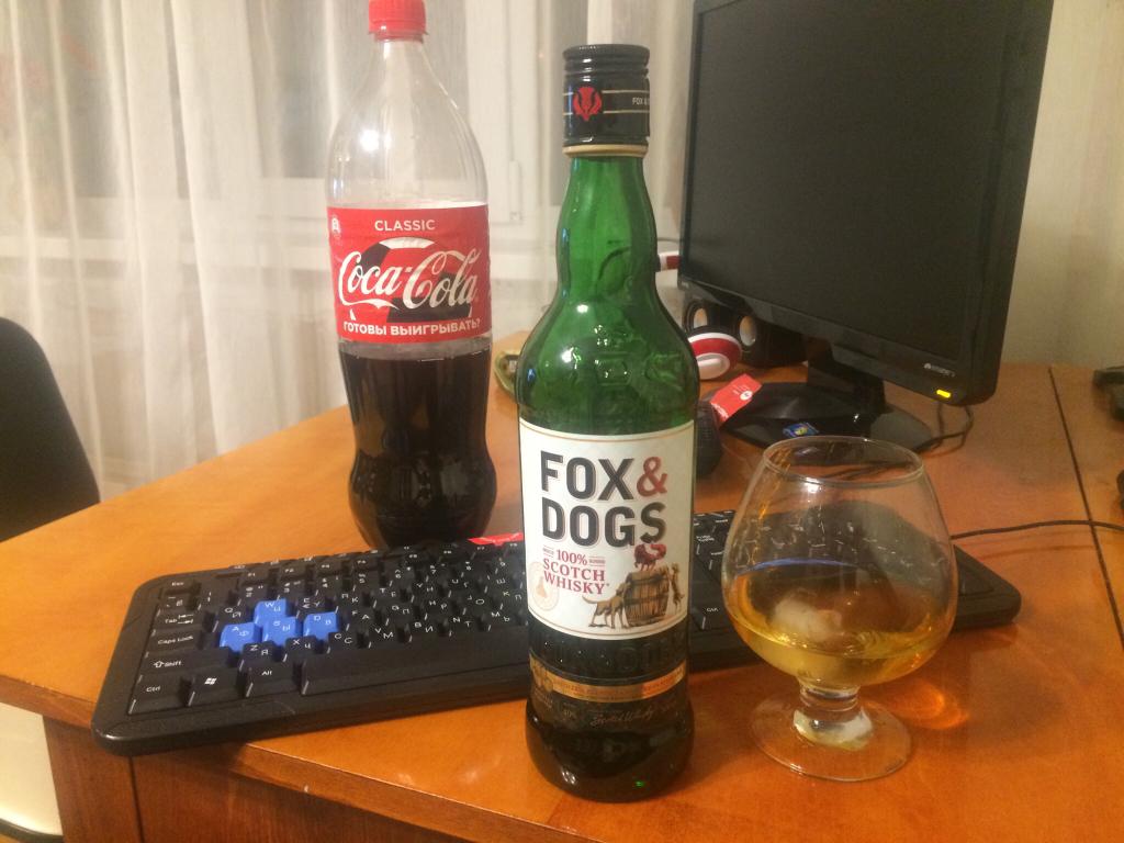 Виски fox&dogs (фокс энд догс): особенности изготовления и вкусовые характеристики