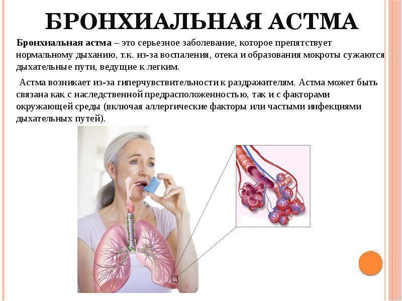 Спиртное и астма: в чем связь?