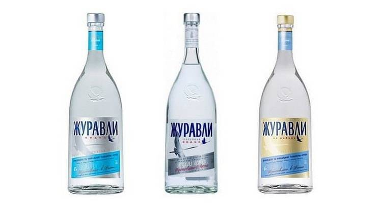 Журавли (водка)