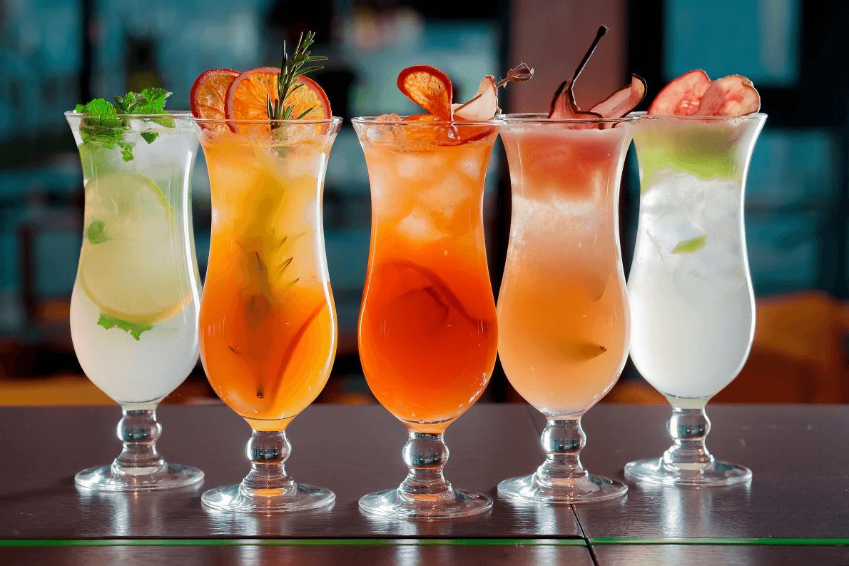 Рецепты приготовления необычных коктейлей