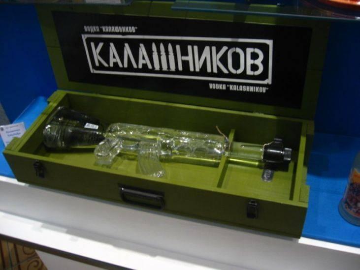 """Водка """"калашников"""": описание и фото"""