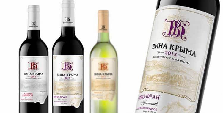 Классификация вина по цветам, содержанию сахара и выдержке