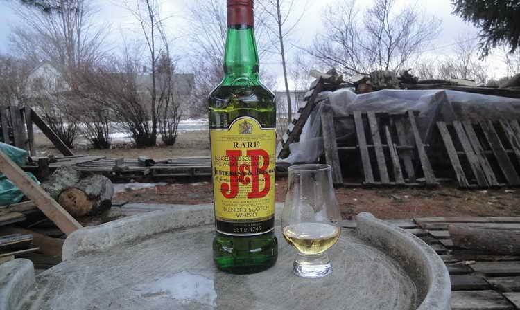Обзор виски jb (джей энд би) - дегустационные характеристики