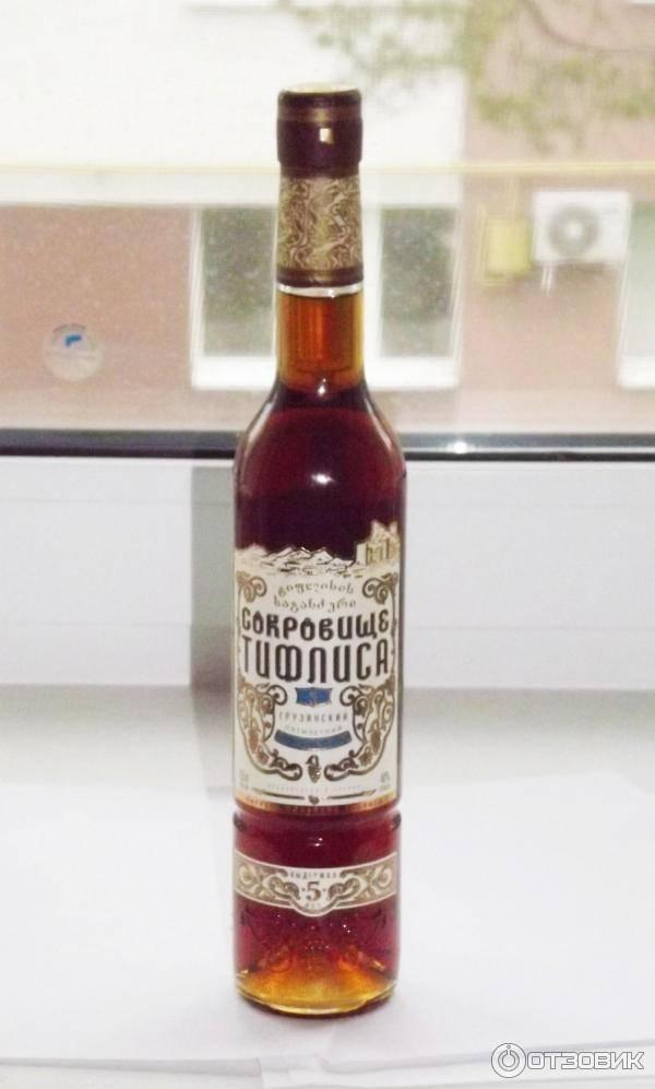 Коньяк сокровище тифлиса - качество и традиции грузинских виноделов