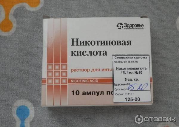 Никотиновая кислота и алкоголь последствия