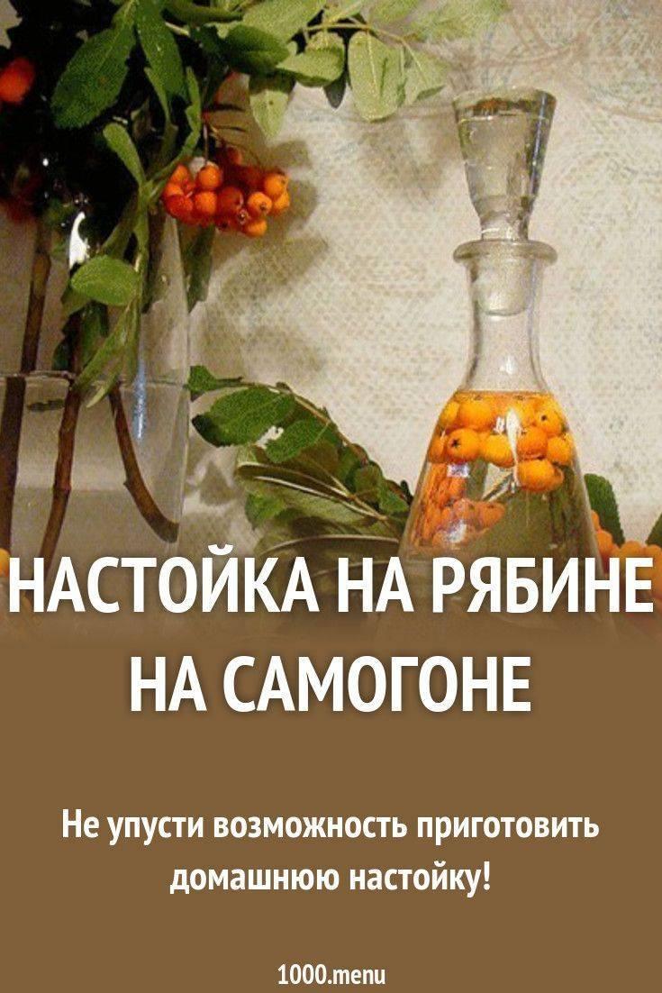 Самогон из рябины (черноплодной и красной)