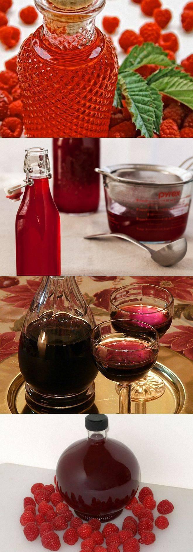 Малиновый ликер в домашних условиях на водке. рецепт приготовления малинового ликера в домашних условиях