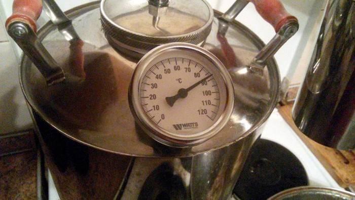 При какой температуре нужно гнать самогон