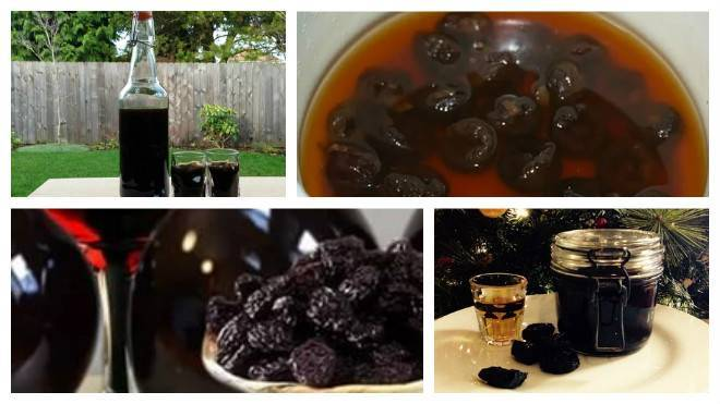 Самогон на черносливе в домашних условиях: рецепты настойки