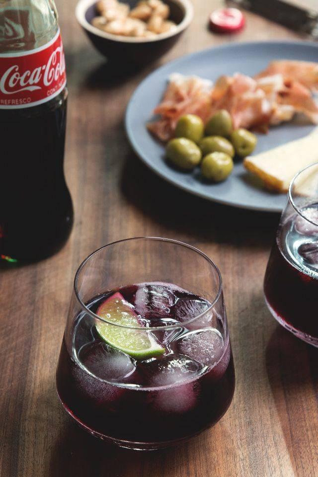 Рецепты коктейлей с красным и белым вином