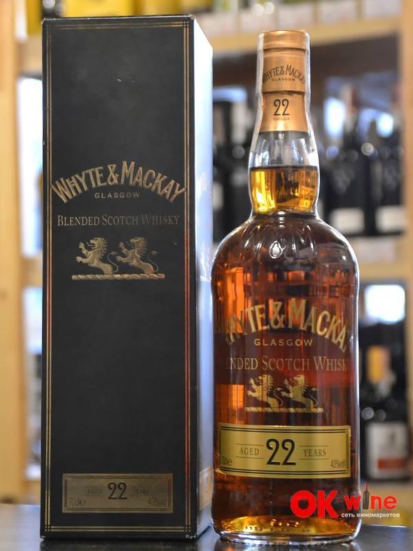 """Шотландский виски """"уайт энд маккей"""": описание, история и отзывы"""
