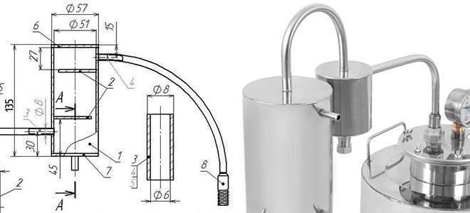 Каким будет холодильник для самогонного аппарата? назначение, принцип работы, как сделать своими руками
