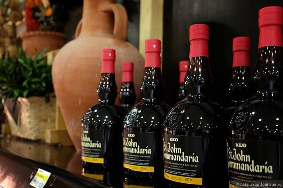 Виноград и вина кипра