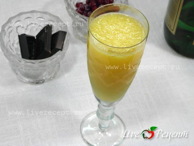 Коктейли на новый год в домашних условиях. 15 рецептов коктейлей с шампанским, фото