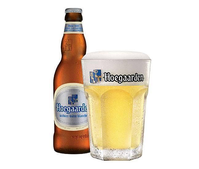 Хугарден пиво: белый нефильтрованный пивной напиток, состав с апельсиновой цедрой, производитель