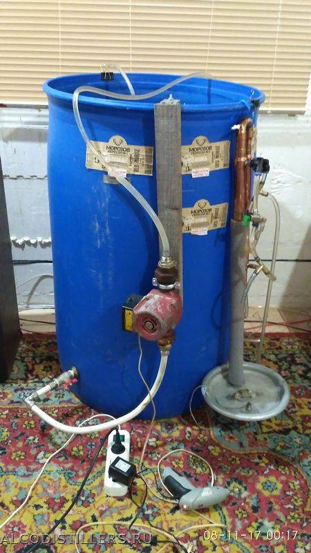 Автономное охлаждение для самогонного аппарата + видео | наливали