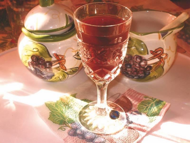 Способ приготовления вина из калины